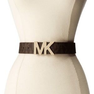 NWT Michael Kors MK 38mm Logo Belt
